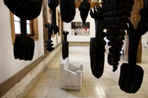 Exposition avec les sculptures de Jo Winter