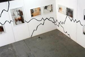 Exposition des images après la Résidence artistique.